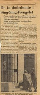 A Surprise Inside: Ethel Rosenberg, news about the trial after WWII. www.bookdecor.com