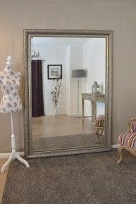 Big Wall Mirror large antique shabby chic gold ornate wall mirror 6ft x 3ft, 178cm