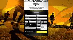 Peça: Site Nike Aterro (Home) Projeto: Nike Aterro Categoria: Nike Futebol Cliente: Nike Ano: 2013 Agência: LiveAD