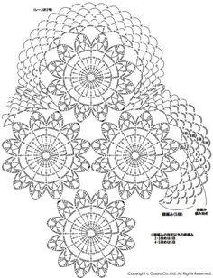 [도일리뜨기] 코바늘 플라워 도일리뜨기 도안 : 네이버 블로그 Crochet Doily Patterns, Crochet Chart, Crochet Motif, Crochet Doilies, Crochet Stitches, Crochet Tablecloth, Table Runners, Decorative Plates, Modern Buildings