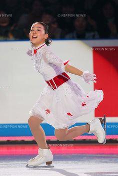 Mao Asada (JPN), APRIL 14, 2013 - Figure Skating : the ISU World team Trophy Figure Skating Championships, the GALA Exhibition at Yoyogi 1st Gymnasium, Tokyo, Japan. (Photo by AFLO SPORT).