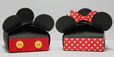 Mickey and Minnie Petal Boxes