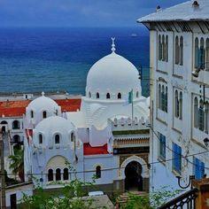 Mosque in Casbah Algiers, Algeria. North Africa