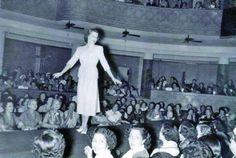 Baghdad Rare Photographs - Fashion show in Baghdad 1956