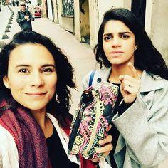 #ZoeViccaji while taking #Selfie with #SanamSaeed  #followme #insta #instagram #instapic #instagood #instafollow #instagramers #instalike #instafashion #instafamous #lifestyle #style #model #samysays #glam #glamour #artist #fashion #fashionista #fashionblogger