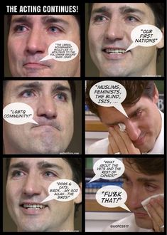 trudeau tears act. He should have stuck to teaching drama. Margaret Trudeau, Trudeau Canada, Canada Eh, Justin Trudeau, Wtf Fun Facts, Prime Minister, Dumb And Dumber, Famous People, At Least