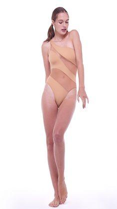 ad377a15e72f SNAKE MESH MIO - Nude Snake, Bikinis, Swimwear, Mesh, One Piece,. Norma  Kamali