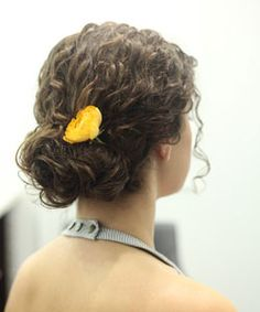 Double bun updo... super simple!