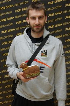 Marcin Możdżonek. Polish Volleyball Player.