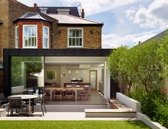 Extension to Victorian house - family living modern