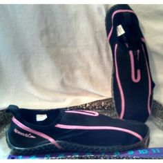 Speedo adult womens ladies pink black beach shoes spandex aqua socks size 10 Listing in the UK 7.5 (Eu 42 US 10),Other,Women's Shoes,Clothes, Shoes, Accessories Category on eBid United States | 158682503