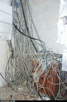 72 best wiring disasters images in 2018 server room, cable Case Garden Tractor Wiring Diagram