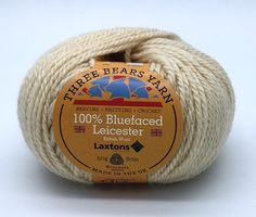 100% Bluefaced Leicester wool in Ecru. We have teamed up with another fantastic British textile manufacturer - Laxtons Yarns, worsted woollen spinners. They have produced this beautiful yarn with such a gorgeous handle especially for us to dye in our Lancashire Dye House.  British premium wool, grown, spun, dyed and balled in the UK.  #threebearsyarn #madeintheuk #weaving #knitting #crochet #crafts #Blackburnyarndyers #wool #bluefaced #madeinlancashire #britishmade #makeitbritish