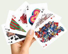 Playing Arts embellishes deck of cards with artist illustrations | Designboom Shop