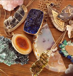 collection of melissa joy manning jewelry
