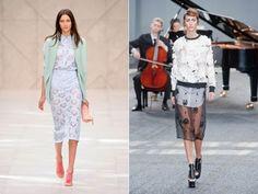 LFW: saias transparentes são aposta na Semana de Moda de Londres