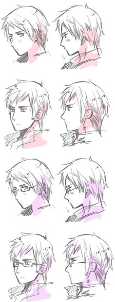 Prussia and Sweden, Hetalia only difference i see are the glasses<<< lol that's just Sweden~ with and without glasses~ you can tell by their hairstyles