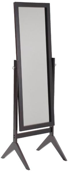 Crown Mark Cheval Mirror, Brown, 52.00.  Find a mirror for every application--wall, floor/full length, vanity, sets, hand-held, makeup.  Browse around home decor.
