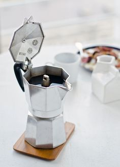 Stovetop Espresso Maker - simple and so so good!