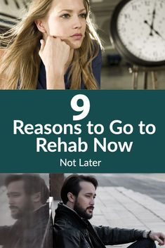 Whether your reasons not to go surround work, money, family, friends, or life events, here are 9 reasons to go to rehab now, not later. Addiction Help, Addiction Recovery, Alcohol Abuse Treatment, Alcohol Rehab, Mental Issues, Alcohol Detox, Emotional Abuse, Medical Care, What Is Like