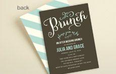 Shop Post-Wedding Brunch Invites
