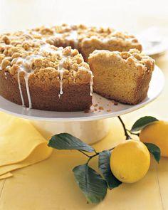 Meyer Lemon Coffee Cake Recipe