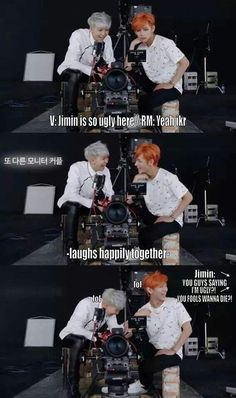 Taehyung is like the best friend who disses jimin and suga is the bratty boyfriend lol have mercy on jimin boy
