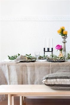 ECO PLANET tablelinen collection - PURE LINEN - Product Showroom