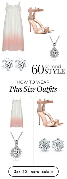 """Untitled #21"" by lexa-corrigan on Polyvore featuring Gianvito Rossi, ombre and 60secondstyle"