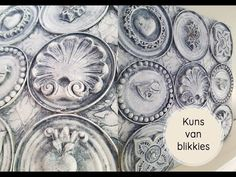 Kuns met blikkies! - YouTube Embellishments, Make It Yourself, Personalized Items, Youtube, Blog, Ornaments, Blogging, Decorations, Youtubers