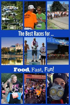 There are many reasons people race, and we have you covered; if its food, fast or fun, we have the best races for you to choose from!  @vitatrain4life
