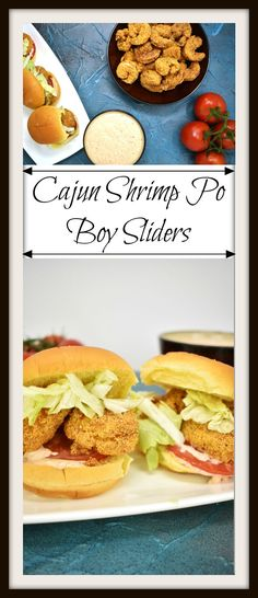 Cajun Shrimp Po Boy Sliders are spicy, crunchy, and absolutely delicious. The cajun style breading on the shrimp brings a little bit of spice and a whole lot of texture. The creamy, complexremoulade sauce is the perfect condiment to compliment the shrimp. Add a fresh slice of tomato, and some crisp refreshing lettuce, and you'll have one of the best sandwiches you'll ever eat.