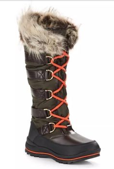 Guess Hadly Lace Up Winter Boots | eBay