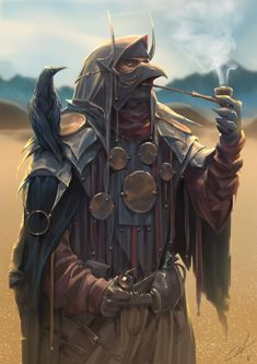 The Naib seeks the wind's counsel.