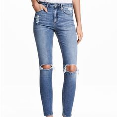 H&M skinny high waisted ankle jeans Great condition worn twice H&M Jeans