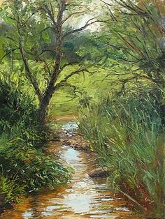 Saint Michael's Creek - Landscape Paintings by Joe Kazimierczyk