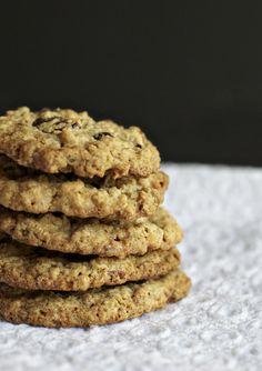 Gluten Free Oatmeal Chocolate Chunk Cookies by @Susan Salzman
