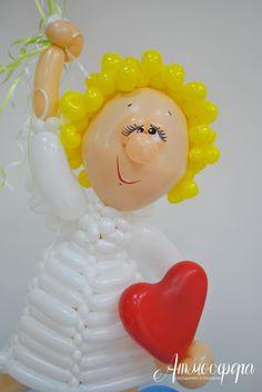 Ангел из шаров #шары #шарыволгоград #воздушные шары #шарики #фигураизшаров #подарокизшаров #радость #счастье #мило #смайлик #улыбка #смешнойчеловечек @nocrop_rc #rcnocrop #фиксикиизшаров #любовь #сюрприз #balloons #ball #изшаров #доставкашаров