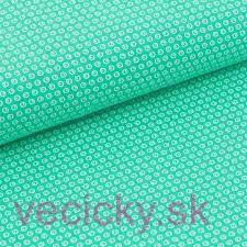 BIO ÚPLET - smaragdové bodky