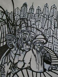 David Lynch Art: January 2011 http://davidlynchart.blogspot.jp/2011_01_01_archive.html