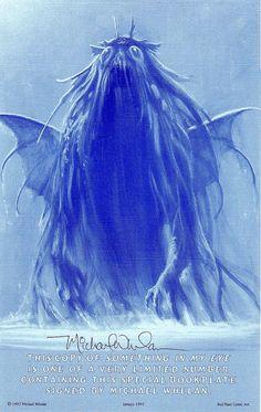 Cthulhu Bookplate (Michael Whelan)