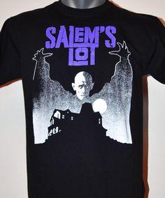 Salem's Lot T-SHIRT Stephen King Vampire Undead