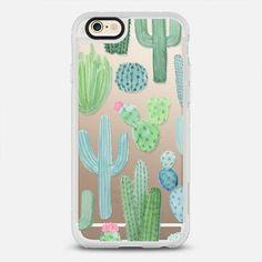 Desert Cactus Garden iPhone Case