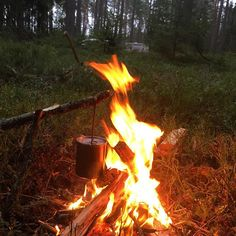 Hopefully there will be time for some forest time this weekend. #fire #bushpot #bushcraft #pothanger #pot #stainlesssteel #sweden #forest #naturen #nature #friluftsliv #camping