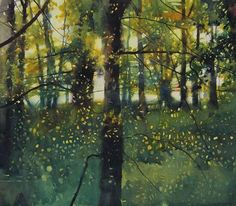 """David Parfitt RI on Twitter: """"An inside job. I haven't been out for a while! 'A touch of autumn' #Watercolour"""