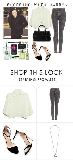 """""""Addicted to you."""" by carla-limitededition ❤ liked on Polyvore featuring Topshop, Zara, SELECTED and Cole Haan"""