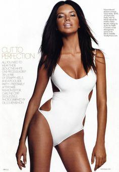 Adriana Lima, Tomas Maier Swimwear, Christian Dior Self-Tanning Body Spray