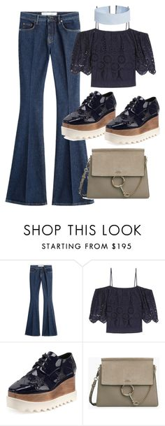 """Untitled #10016"" by katgorostiza ❤ liked on Polyvore featuring dVb Victoria Beckham, Ganni, STELLA McCARTNEY and ASOS"