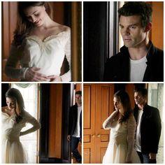 The Originals – TV Série - Elijah Mikaelson - Daniel Gillies - Hayley Marshall - Phoebe Tonkin - rainha - queen - lobo - Wolf - casal - couple - grávida - amor - love - embarazada - pregnant - 1x10 -