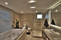 Bathroom Design Luxury, Modern Bathroom Design, Bathroom Designs, Dream Bathrooms, Dream Rooms, Appartement Design, Luxury Homes Dream Houses, Dream Home Design, Luxurious Bedrooms